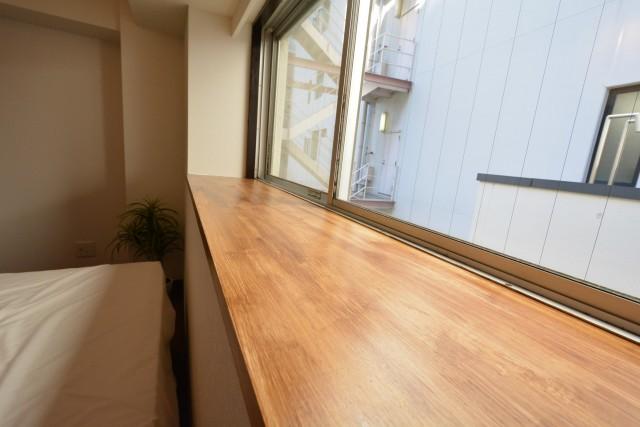 中銀小石川マンシオン 洋室約6.4帖窓