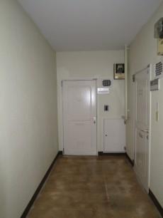 御苑フラワーマンション 玄関ドア