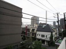 常磐松サマリヤマンション バルコニーからの眺望