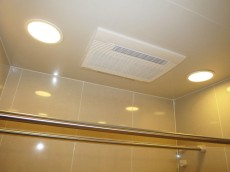 代官山マンション 浴室換気乾燥機が設置されています