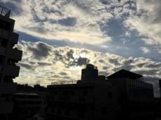 東中野マンション 眺望