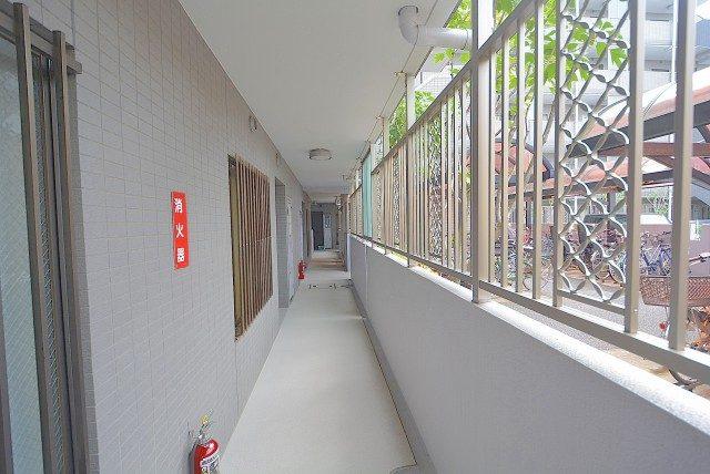 サンヴェール世田谷経堂  外廊下
