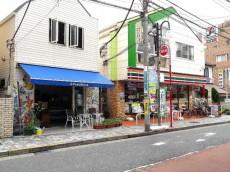 柿の木坂コーポ 商店街