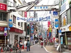 目黒サンケイハウス 西口商店街