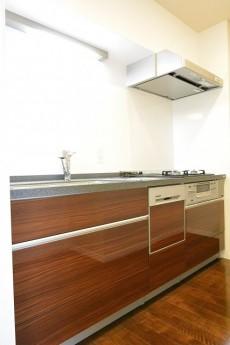 南平台セントラルハイツ システムキッチン