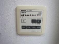 下落合南デュープレックス 浴室換気乾燥機付のバスルーム