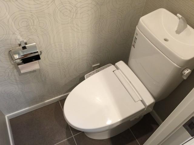 朝日落合マンション トイレ
