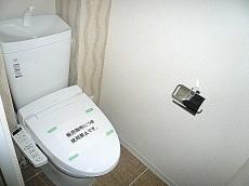 ノア南麻布 ウォシュレット付トイレ