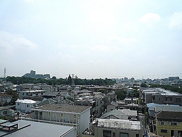 深沢ハイム 6階からの眺望
