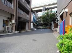 セブンスターマンション第二日本橋 エントランス前面道路