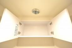 カーサ池尻 トイレの吊戸棚