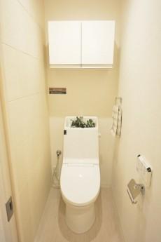 スカイプラザ赤坂 ウォシュレット機能付きトイレ