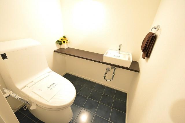 ヴァンヴェール南平台 トイレ401