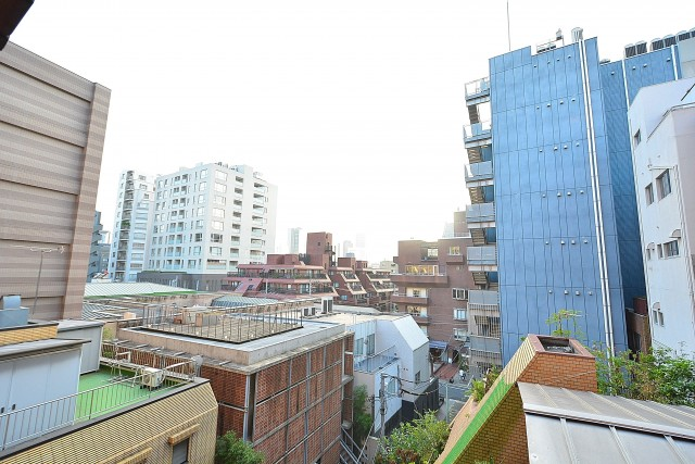 南青山セピアコート DEN窓からの眺望