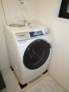 ディアライフ大塚 ドラム式洗濯機がすでに設置されています