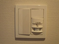 藤和護国寺コープ 玄関照明は人感センサー付307