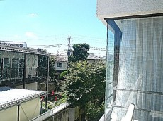 ロワイヤル碑文谷 2階からの眺望
