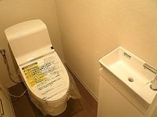 オーベル三軒茶屋 手洗い付きトイレ