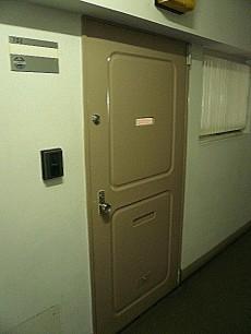 麻布十番中央マンション 玄関