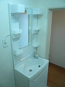 麻布十番中央マンション 洗面化粧台