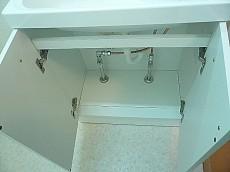 麻布十番中央マンション 洗面台 収納