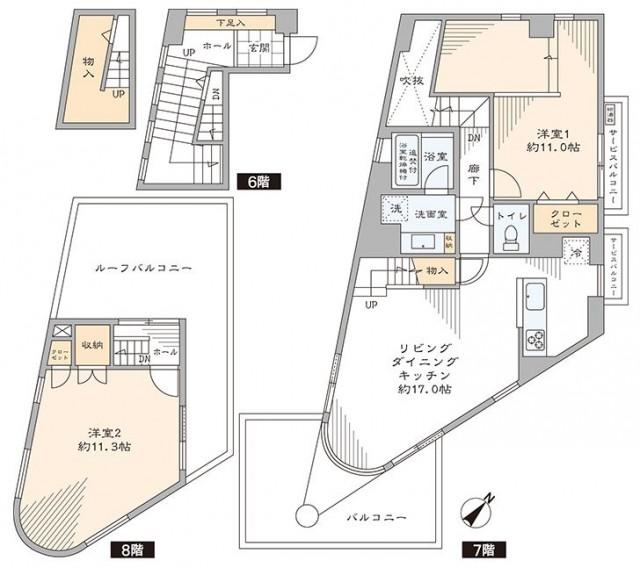 モンフォアイエ五反田 図面