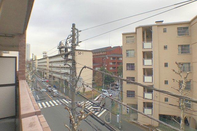 ライオンズヴィアーレ幡ヶ谷 バルコニー