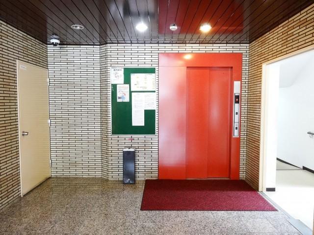 近鉄ハイツ魚籃坂 エレベーター