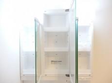 柿の木坂コーポ 洗面化粧台