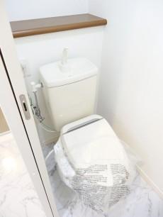 柿の木坂コーポ トイレ