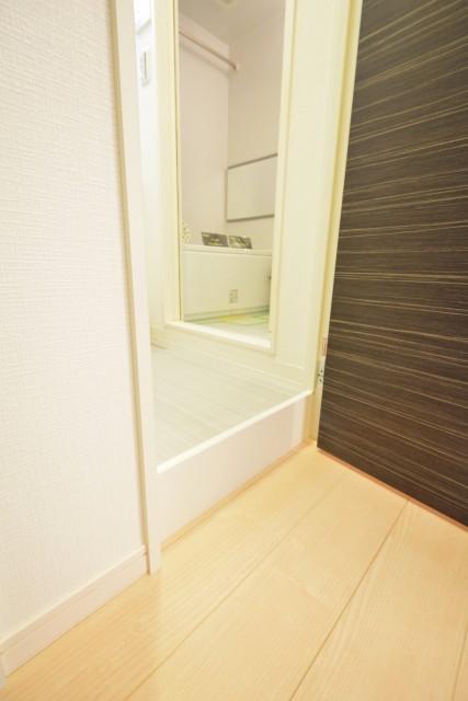 砧フラワーマンション 洗面室