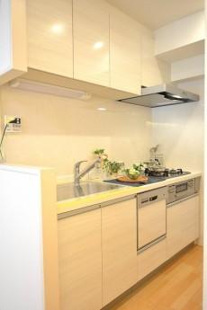 日興パレス南麻布第2 システムキッチン