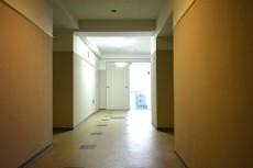 アールヴェール新宿弁天町 共用廊下