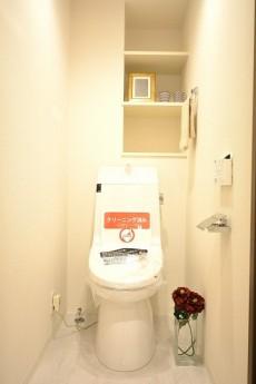 ライオンズヴィアーレ幡ヶ谷 ウォシュレット機能付きトイレ