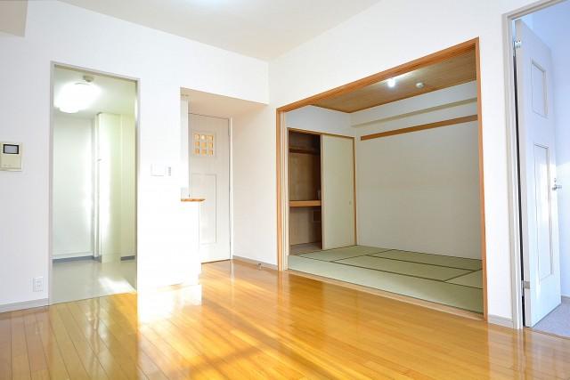 アールヴェール新宿弁天町 リビングダイニング+和室102