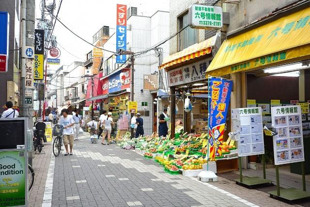 ライオンズヴィアーレ幡ヶ谷 六号通商店街