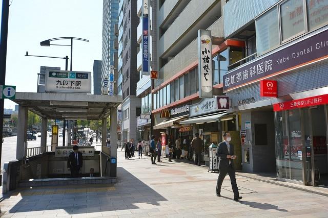 東建ニューハイツ九段 周辺環境 最寄駅