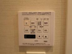 新宿パークサイド永谷 バスルームには浴室換気乾燥機