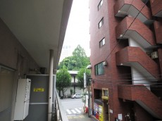 新宿パークサイド永谷 バルコニーからの眺望