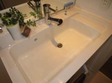 西新宿ハウス オシャレな洗面化粧台306
