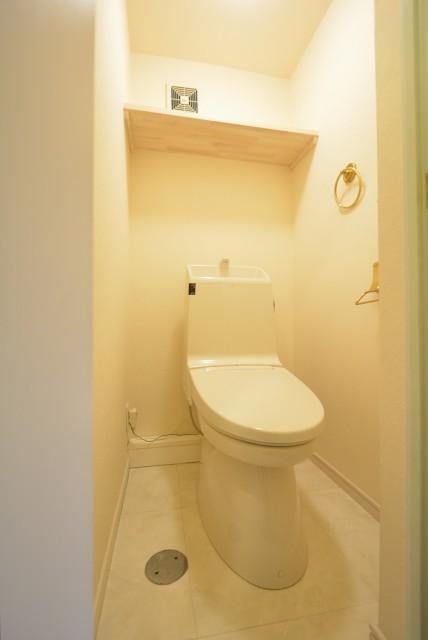 神宮前コーポラス トイレ