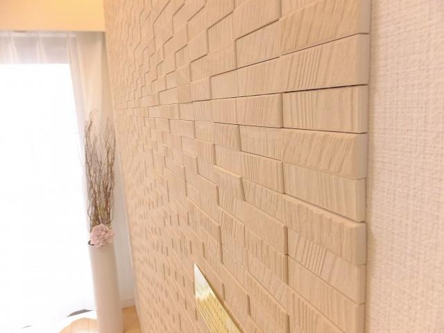 サニークレスト三田 リビング壁