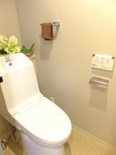 日商岩井方南町マンション トイレ