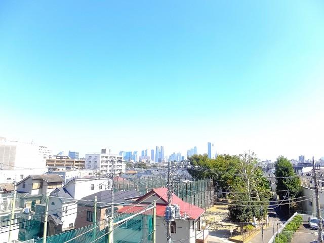 日商岩井方南町マンション バルコニー眺望