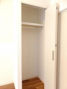 尾山台リバーサイドハイデンス 5.5帖のベッドルーム収納