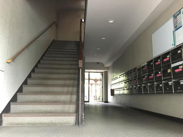 馬事公苑前住宅 エントランスホール