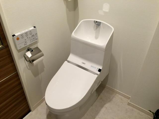 三軒茶屋サンハイツ トイレ