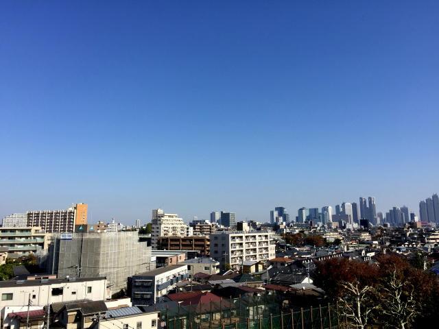 日商岩井方南町マンション 眺望