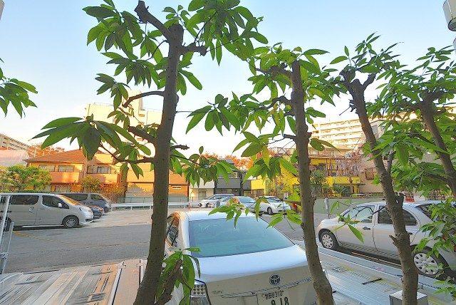 世田谷船橋パークホームズ 駐車場