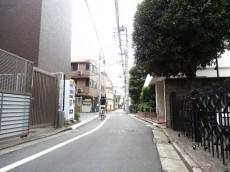 セイントマンション 前面道路